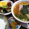 東海市のひらまつで中華そば定食