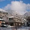 雪化粧の箱根山と湯本富士屋ホテルの湯三昧プラン(^o^)