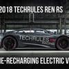 ● 6モーターで1305psの電動スーパーカー、テックルールズ「Ren RS」を発表…ジュネーブ・ショー