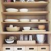 我が家の食器棚にジャストサイズな「無印の竹材収納ボックス」