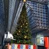 京都駅のイルミネーション2018。クリスマスツリーと大階段を撮影!
