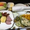 シンガポール32:エアチャイナの機内食(シンガポールから帰国中)