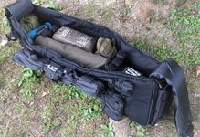 ソロキャンプで使うタクティカルなリュックとバッグ。MOLLE(モール)システムでカスタマイズ
