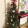 クリスマスツリーと入学式のスーツ