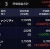 保有株はすべて上昇!めざせ、美しきポートフォリオ