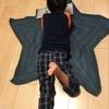 星型ブランケットの編み方①