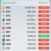 韓国規制で全面安 リップルだけ好調 12/28仮想通貨市場