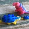 【粘土細工】子供のために恐竜作り