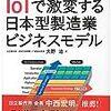 【読んでみた】俯瞰図から見える IoTで激変する日本型製造業ビジネスモデル