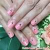 かわいいネイルで気分良く過ごす日常を♡バレンタインなピンクの逆フレンチネイル☆ジェル
