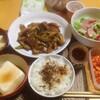 【今日の食卓】エバラ回鍋肉のたれを使った、豚、椎茸、エリンギ、アスパラ等の炒め物+「おばあちゃんのにんにくみそ」抗ガンと内部被ばく対策に?