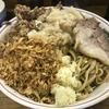 ラーメン二郎 新小金井街道店 『大汁なし気持ち少なめ ほぐし豚 生玉子 』