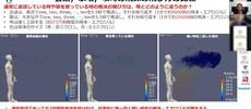 ウレタンマスクは10μm-1000μm(1mm)の飛沫を50%防御。5μm飛沫は8.2%。1μm飛沫は0.6%という無力さ。