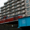 越中島貨物線を走るDE10ディーゼル機関車