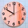 プラバンとラベルシールで『超軽量掛け時計』を作ってみた