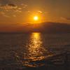 写真作品「稲村ケ崎の夕景」 大胆な現像処理をしてみました。 #EOSM6