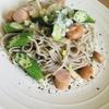 お蕎麦を使ってイタリアン!【ソバロンチーノを作ります】。