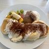 美味しいパンケーキ スフレパンケーキふわっふわで絶品 Cafeサテンカーリートイボ
