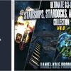 Ultimate Sci-Fi Starships, Stardocks, and Jumpgates Collection 宇宙船を使ったシューティングを作るための素材と破壊エフェクトコレクション