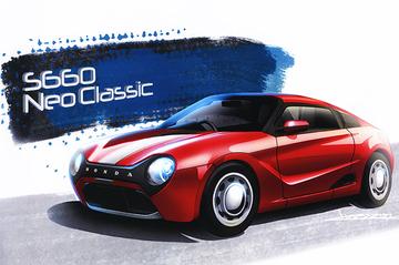 「何これ!?おしゃれ!どこのクルマ!?」。熱い注目を浴びる「S660 Neo Classic」誕生秘話