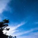 星空と、色えんぴつ