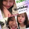 ソニンさんHAPPY BIRTHDAY!!
