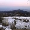 塔ノ岳~鍋割山① ヤビツ峠から登り三ノ塔で山ごはんを食べる 2020.2.8~2.9