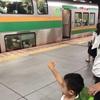 平日夜の子連れ外出にはグリーン車が便利!!!