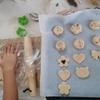 娘とクッキー作り♪
