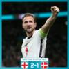 【#欧州選手権 準決勝】#イングランド 対 #デンマーク 試合結果