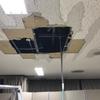 総社市 某宿泊施設 漏水による天井破損の為 修理作業