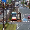 『エール』仕様の路面電車(豊橋)