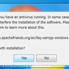 Windows7にXAMPPをインストール