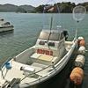 海況悪し💧 ・・にて、ボート艤装に励んできましたよ~💪