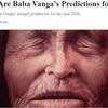 最高予言者ババ・ヴァンガの「2020年に起こる不吉なこと3つ」がヤバすぎる! 日本にもガチ言及、絶望的すぎる未来!