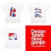 コラボレーションTシャツ 各種(トリコロール) | graniph(グラニフ)