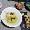 すだちで旬野菜ステーキとお豆腐を使ったロールキャベツ