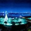 """東京・お台場「お台場イルミネーション""""YAKEI""""冬Ver.」を開催!真っ白なイルミネーションでホワイトクリスマス!"""