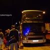 キルギスからカザフスタンへ、夜の旅。