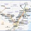 メリーランド州交通局が運営する都市近郊路線MARC(Maryland Area Regional Commuter)とは。主としてワシントンとボルチモアを接続。完全通勤路線。