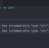 Atom + python3.5 type hinting