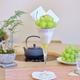 シャインマスカットパフェとトースト(食パンはペリカン!)を浅草和カフェ「くくりひめ珈琲」で。ホットコーヒーと抹茶ラテも