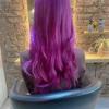 美容院day 紫頭の完成 笑