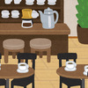 さっと書ける! 退職のあいさつ状 喫茶店・カフェを開く場合