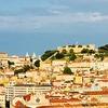 リスボンの穴場スポット 夕焼けに染まるリスボンの絶景を眺めながらのビアガーデン