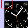AppleWatchの文字盤に歩数を表示する無料アプリ
