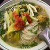休日の朝食にベトナム料理を(ブンモックと食材見学)