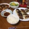 麻婆豆腐を中心とした夕食に 久し振りのウェイトトレーニングはキツい