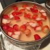 苺を使って2層のゼリーり&ムース作ってみた!