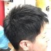 #白髪染め 不自然がカッコいい✨✨アッシュ系スモーキーブラック 鈴鹿市ヘアサロン